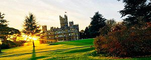 LIMO TO HIGHCLERE CASTLE